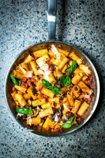 Private: Pork & Fennel Ragu | DonalSkehan.com, My 30-minute version of the Italian classic.