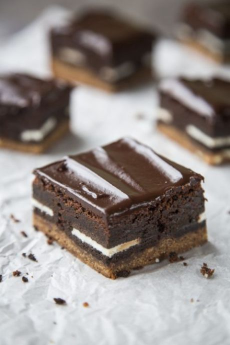 Cookie Dough Brownies | DonalSkehan.com, These brownies are quite frankly ridiculous!