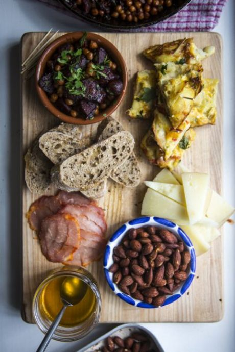 Spanish Tapas | DonalSkehan.com, Accompanied by a glass of Spanish wine or beer, this snack selection makes for great party food.