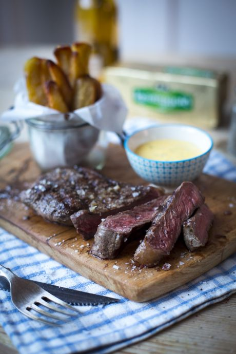 Steak & Chips with Bearnaise Sauce | DonalSkehan.com, Classic comfort food with the flavour turned up!