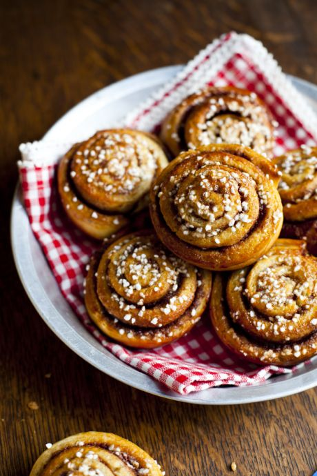 Swedish Cinnamon Buns | DonalSkehan.com, Perfect festive treat but great all year round too!