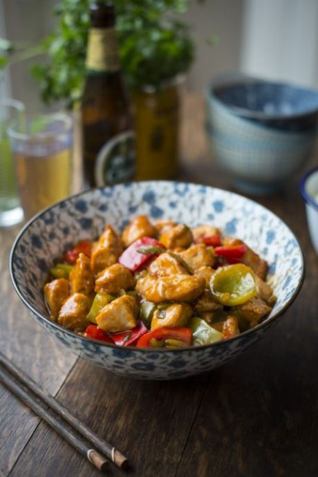 Sweet & Sour Chicken | DonalSkehan.com, My take on the Chinese takeaway favourite.