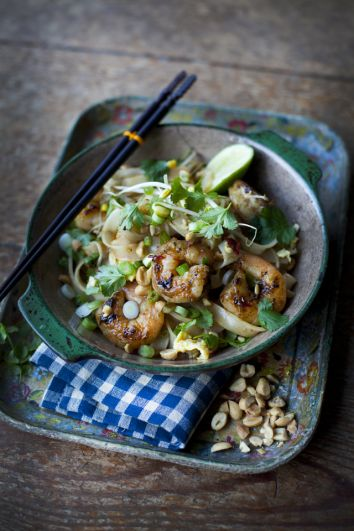 Simple & Quick Pad Thai | DonalSkehan.com, My ultimate dessert island dish!