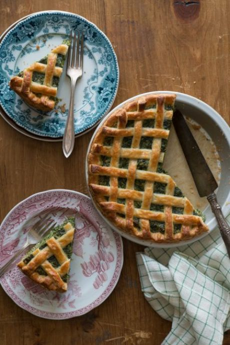 Torta Rustica | DonalSkehan.com, Kristina Gill, co-author of Tasting Rome, shares her recipe for Torta Rustica, a delicious savoury tart!