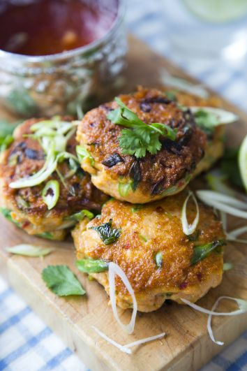 Thai Fish Cakes | DonalSkehan.com, Serve with a salad for a light main course.