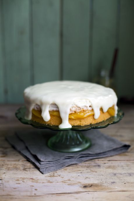 Lemon Marshmallow Cake | DonalSkehan.com, The perfect balance of sweet and squeakingly sour!