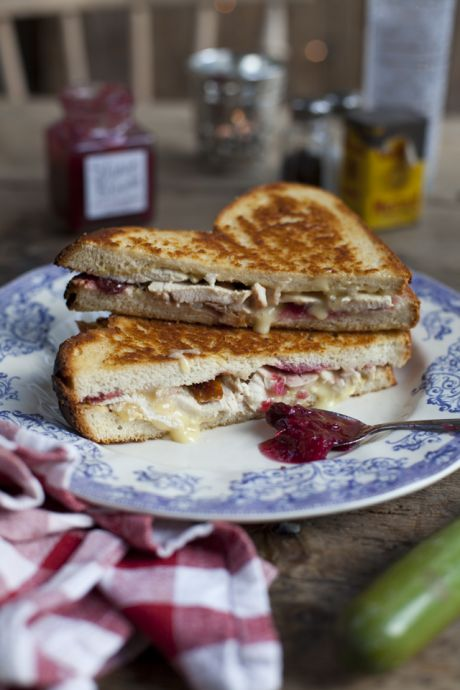Mega Turkey and Brie, Cranberry Chutney, Grilled Sambos | DonalSkehan.com, Christmas isn't complete without leftover sandwiches!