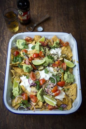 Homemade Nachos | DonalSkehan.com, Because a party isn't complete without homemade nachos!