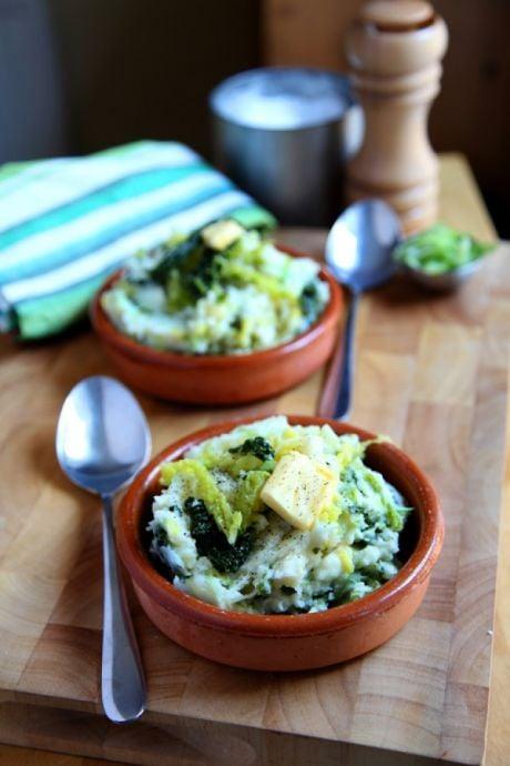 Creamy Colcannon Mash | DonalSkehan.com, A traditional Irish staple on the dinner table.