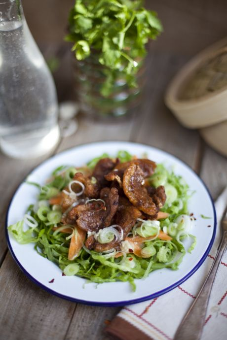 Crispy 5 Spice and Chilli Duck Salad | DonalSkehan.com, The perfect quick lunch option!