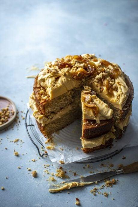 Irish Apple Cake with Salted Caramel | DonalSkehan.com