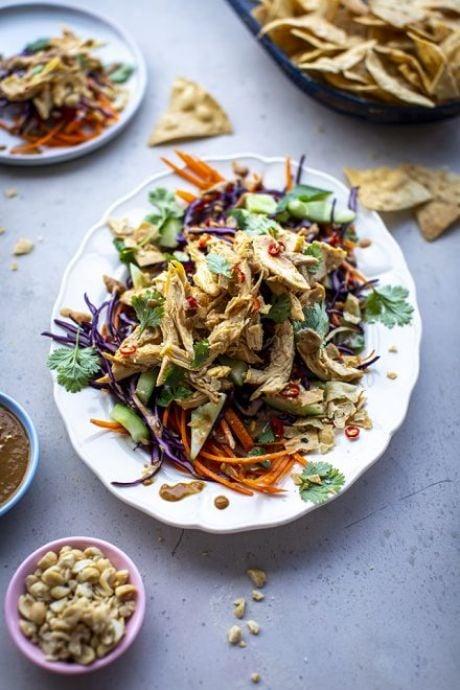 Crunchy Bang Bang Chicken Salad   DonalSkehan.com