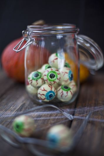 Creepy Chocolate Eyeballs | DonalSkehan.com, A real trick AND treat!