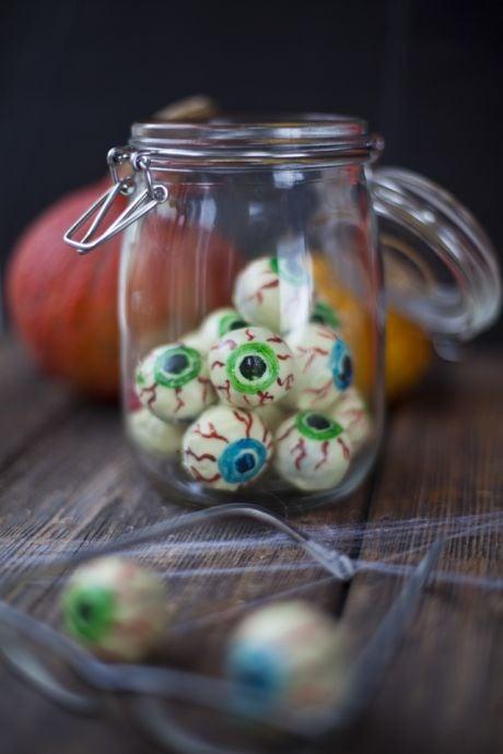 Creepy Chocolate Eyeballs | DonalSkehan.com, A real trick AND treat!