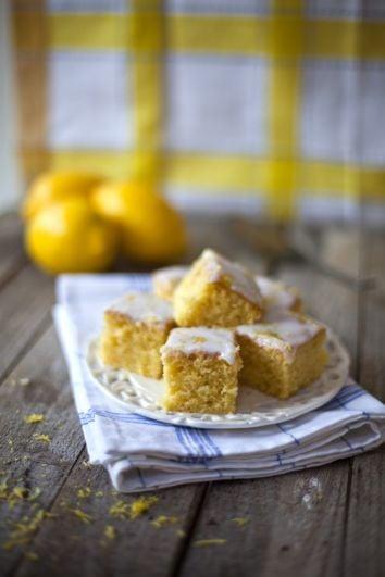 Lemon Drizzle Slices | DonalSkehan.com