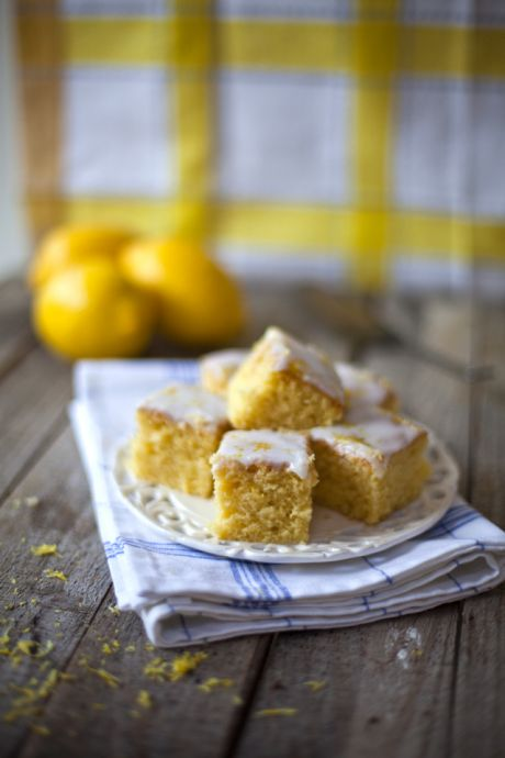 Lemon Drizzle Slices | DonalSkehan.com