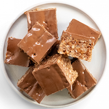 Snack - Chocolate Caramel Rice Crispy Treats