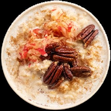 Breakfast - Apple & Cinnamon Porridge