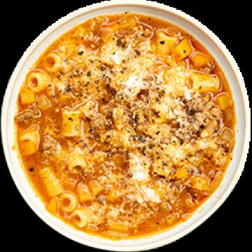Dinner - Bolognese Soup - Low Cal