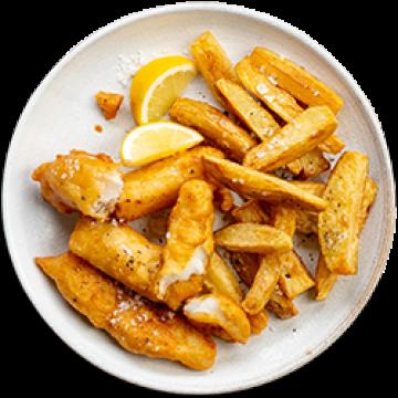 Dinner - Beer Battered Fish & Chips