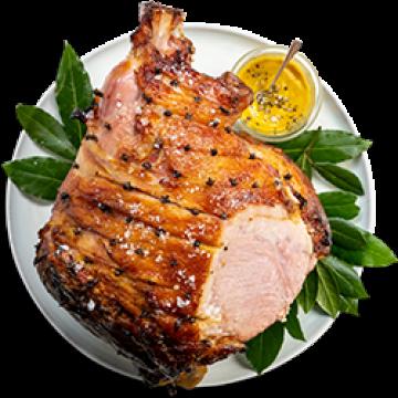 Dinner - Glazed Ham