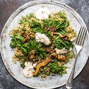 Dinner - Mushroom Grain Bowl - Low Cal