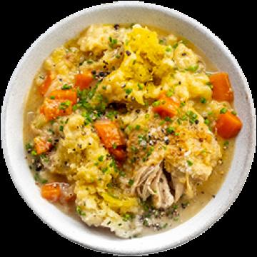 Dinner - Chicken Stew for the Soul - Feb