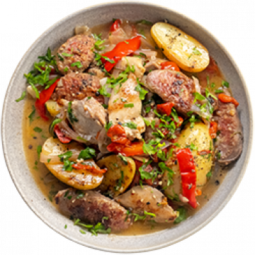 Dinner - One Pan Italian Chicken - Feb
