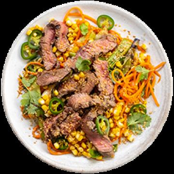 Dinner - Spicy Steak Supper - Feb