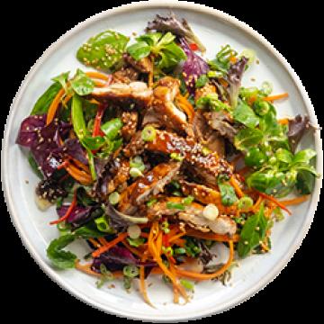 Lunch - BOOM BOOM Sticky Soy Chicken Salad - March