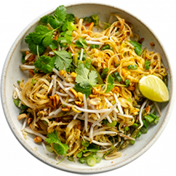 Dinner - Vegetable Pad Thai - March