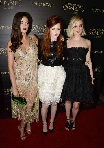 "LA Premiere of ""Pride and Prejudice and Zombies"""
