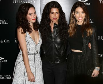 Jessica Biel at The Thruth About Emanuel LA Premiere with Kaya Scodelario & friends