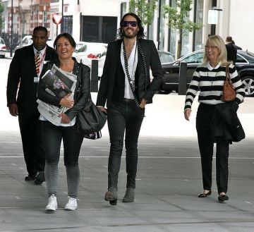 Russell Brand, Mollie King and more at the BBC
