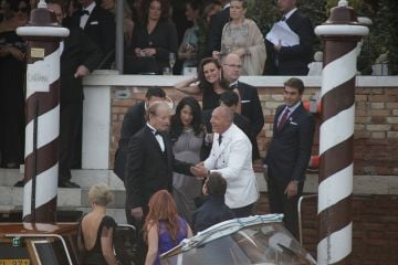 The wedding of George Clooney and Amal Alamuddin