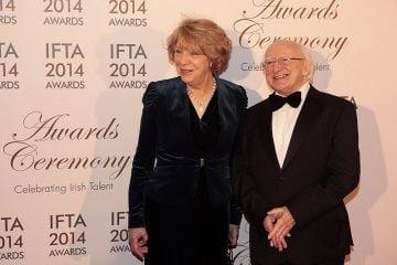 IFTA's  Red Carpet 2014 - With Steve Coogan,Colin Farrell,Jeremy Irons.