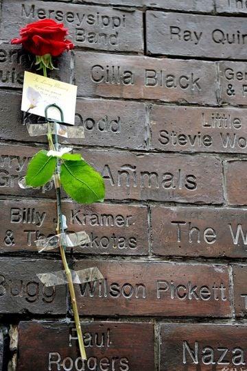 Tributes are made for Cilla Black in Liverpool