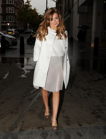 Celebs at the BBC Studios: The Saturdays, Natalie Portman, Miley Cyrus & more