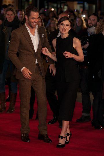 Jack Ryan: Shadow Recruit - European premiere. Keira Knightley, Chris Pine & more