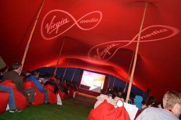 Virgin Media's Full Stream screening of Pulp Fiction in Clare