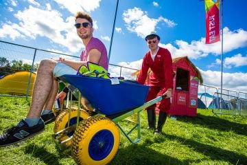 Just Eat Retreat Full Moon Party at Electric Picnic 2017