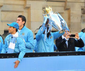 Manchester City Premier League Title victory parade.