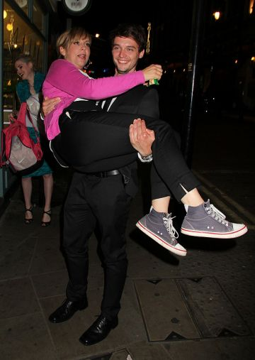 Ashton and Mila, Jude Law, Chris Martin and Simon Amstell: A night at the theatre