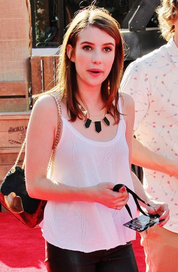 Emma Roberts and co. at Disney movie Premiere