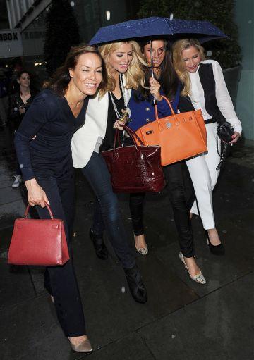 Nick Grimshaw, Eliza Doolittle, Jourdan Dunn: London club