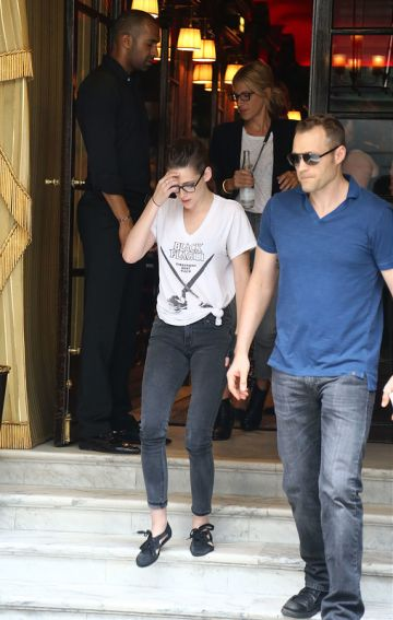 Daniel Radcliffe, Emma Roberts, Justin Theroux and more out and about