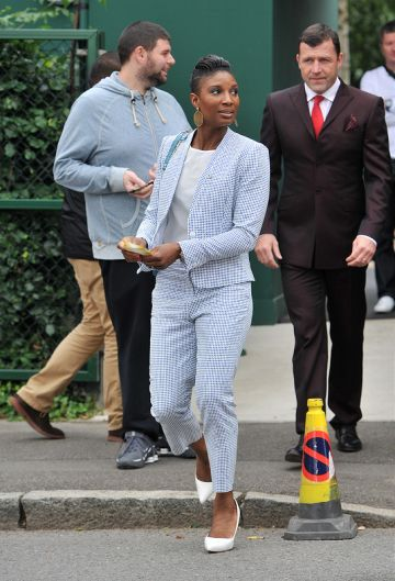 Wimbledon day 1:Grace Jones, Pippa Middleton and more