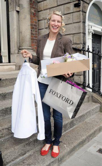 The wedding of former Miss Ireland and TV presenter Pamela Flood to restaurateur Ronan Ryan at No.10 Ormond Quay