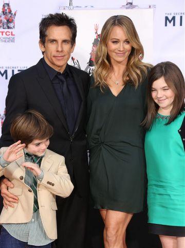 Ben Stiller's Hand/Footprint Ceremony with Christine Taylor & Tom Cruise