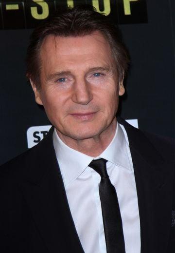 Non-Stop Paris premiere with Liam Neeson, Michelle Dockery & Julianne Moore